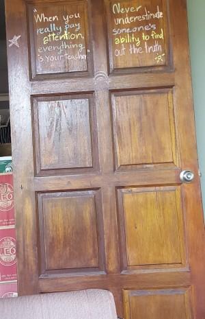 Door of wisdow