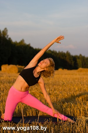 Паригхасана. www.yoga108.by