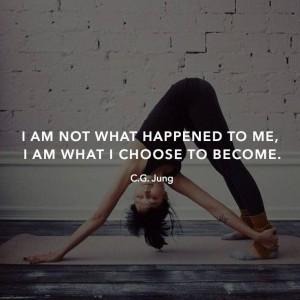 Я - это не то, что со мной случилось. Я - это то, чем я выбрал после этого стать.