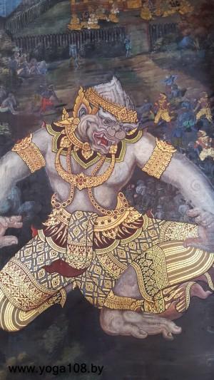 Фрески Большой Королевский Дворец (Бангкок)